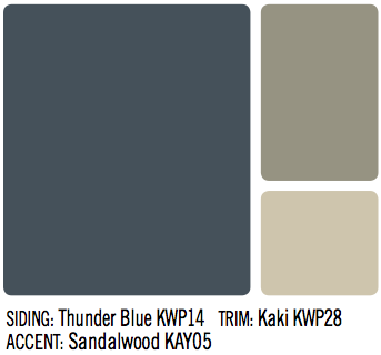 3 Color Combinations For Your Homes Exterior