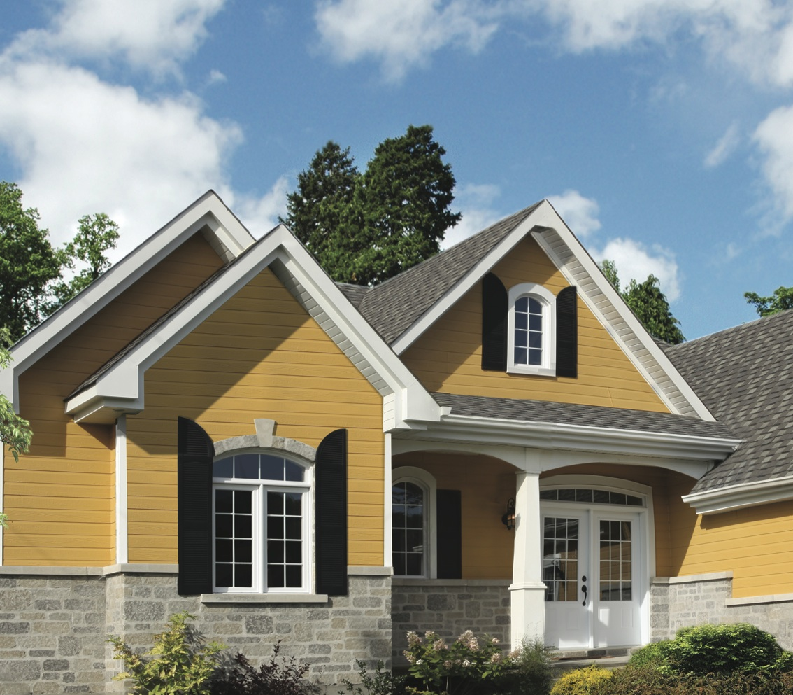 Siding colors building with naturetech for Building exterior colour