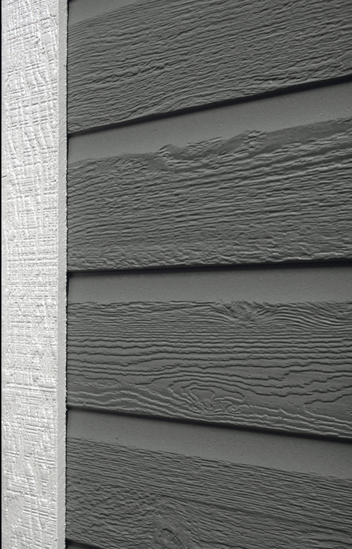 Melamine building with naturetech for Engineered wood siding options